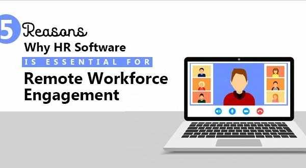 HR Software Is Essential For Remote Workforce Engagement